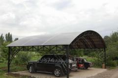 Canopies, arbors production Donetsk.