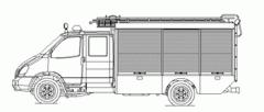Автомобиль аварийно-спасательный ААР-6(3310)-273