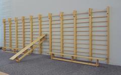Шведская стенка деревянная