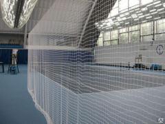 Сетки вязаные заградительные спортивные, сетки