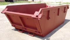 Pen-top hook-lift containers (RO/RO waste bins,
