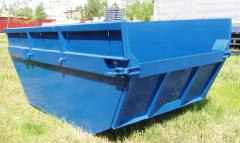 Manufacturer of open-top hook-lift containers