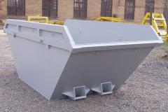 Pen-top hook-lift containers for storing and