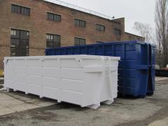 Roll-on roll-off hooklift containers