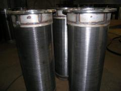 Фильтрующий элемент для Скрубер Бутара,  фильтрующий барабан, сварное сито