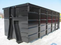 Roll-on roll-off (hooklift) containers