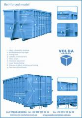 Hooklift containers, dumpsters, skip containers