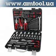 Комплект инструмента AmPro, 87 предметов Т46181