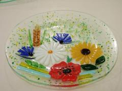 Plate decorative on technologies of a fyyuzing,