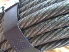 Cargo cable, steel rope for the tower, mobile