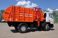 MKM-3503 garbage truck