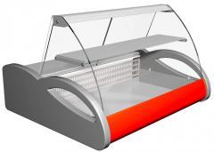 Линия холодильных витрин с вентилируемым