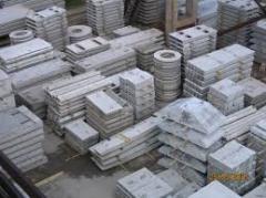 Concrete, reinforced concrete, concrete goods