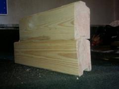 Bar coniferous pro-thinned