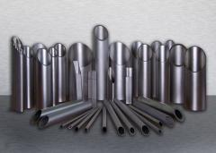 Pipe from a stainless steel a seamless,