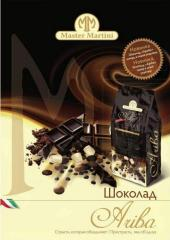 Ariba chocolate (milk, black, white)