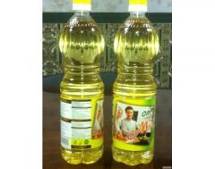 Sunflower oil not refined packed up 860gr