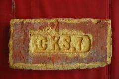 300-year brick from Austro-Hungary