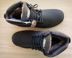 Ботинки унисекс от 36р. зимние на цигейке, обувь