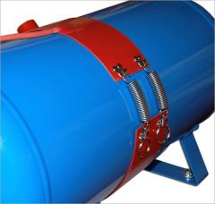 Silicone heaters for barrels