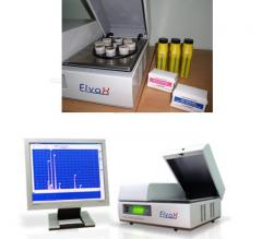 Portable analyzer of a chemical composition of