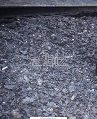 Elimination from crushed stone granite. Crushed