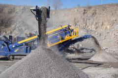 Crushed stone. Road-building materials. The prices