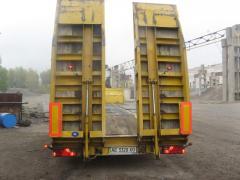 Услуги трала для перевозки крупногабаритных грузов