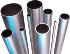 Pipes from stainless steel, a pipe