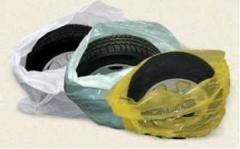 Упаковка для шин и дисков. Пакеты для шин.