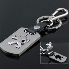 Брелок для ключей Peugeot (Пежо) с логотипом,
