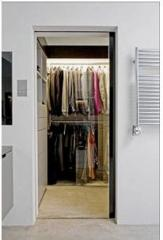 Automatic interroom doors
