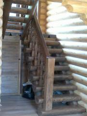 Ladders for the house wooden