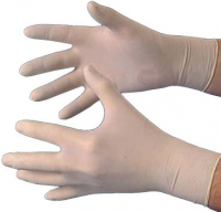Gloves latex size M up.100 piece (Code: 24546)