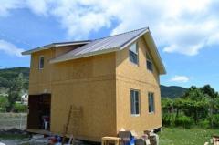Строительство домов из sip-панелей в Севастополе