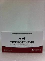Тиопротектин, 2.5% Tioprotectin, 2.5% 10x2 ml