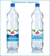 Вода минеральная природно-столовая от