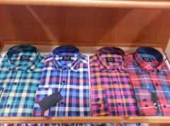 Men's shirts wholesale and under realization