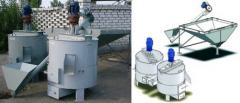 The steam generator for grain UKR-2