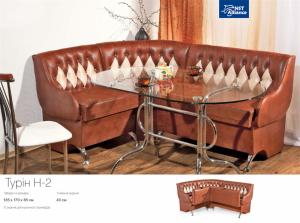 Furniture sets for kitchen angular sof