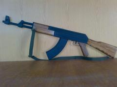 He Kalashnikov with a b