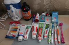 Средства для ухода за полостью рта и зубами