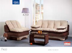 The furniture is beskarkasny