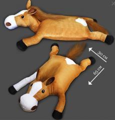 New Year's soft pillow Horse. simvol 2014.