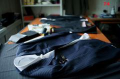 Tailoring of men's suits