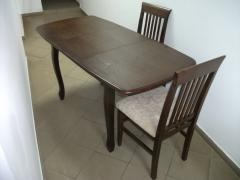 Dining room table, Olympe's Table beechen,
