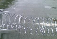 Барьер защитный из ЕГОЗЫ диам. 600мм. Колюче-проволочные заграждения, концертина, Егоза.