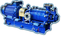Pumps multistage section (pumps TsNS, TsNSG) for