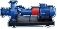 Pumps for sewage not submersible (SM, 2SM, SD,