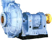 Pumps for abrasive hydromixes (Gr, P, BM)